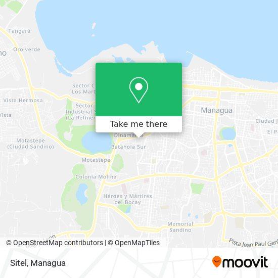 Sitel map