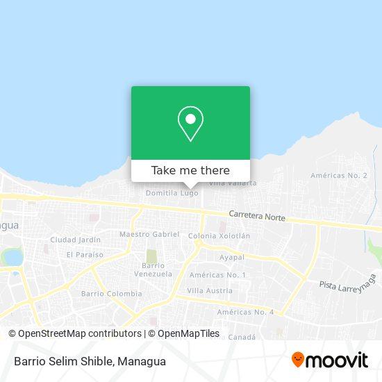 Barrio Selim Shible map
