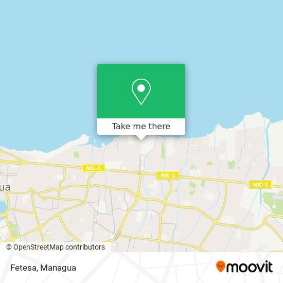 Fetesa map