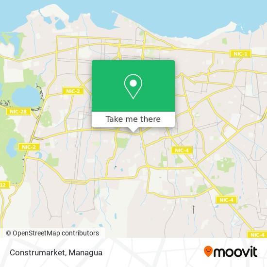 Construmarket map