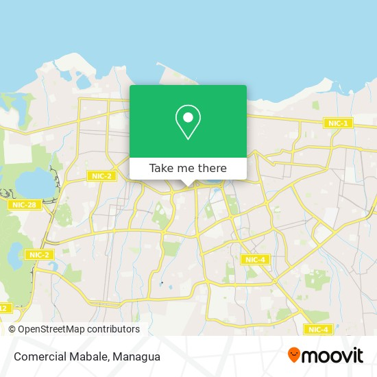 Comercial Mabale map