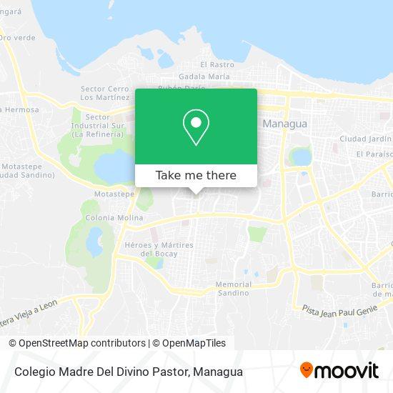 Colegio Madre Del Divino Pastor map
