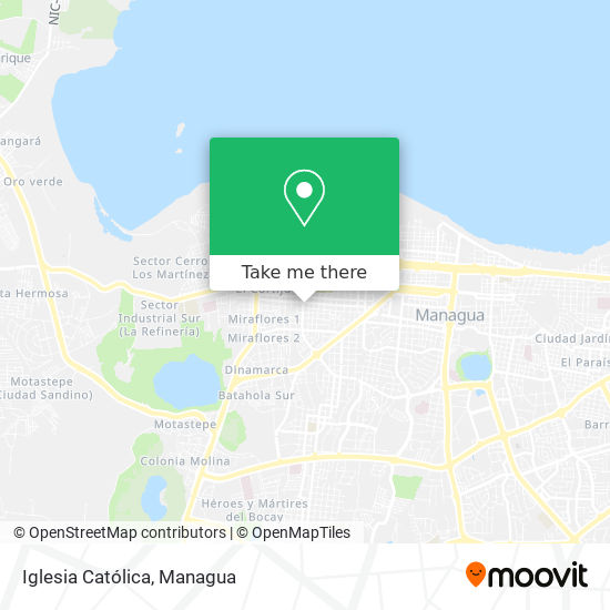 Iglesia Catolica map