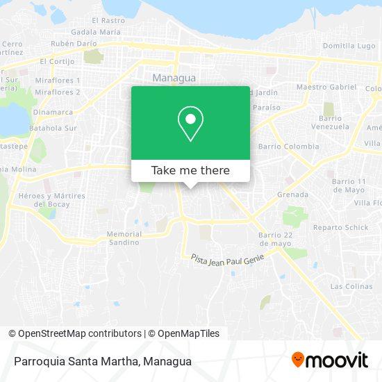 Parroquia Santa Martha map