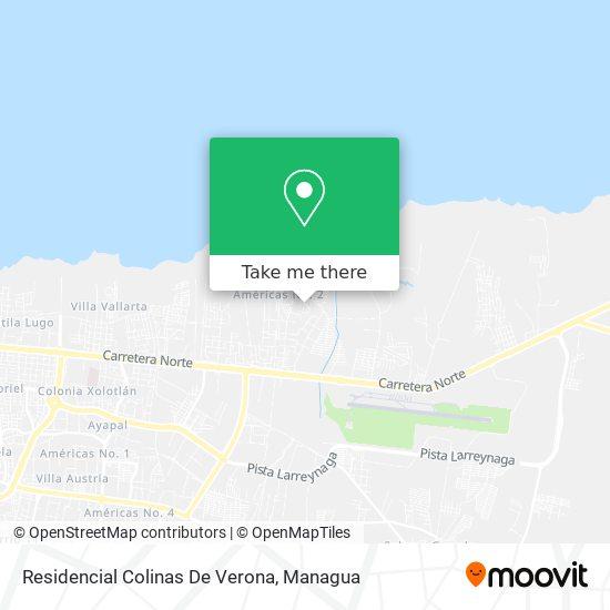 Residencial Colinas De Verona map