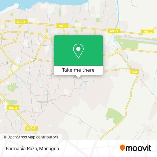 Farmacia Raza map