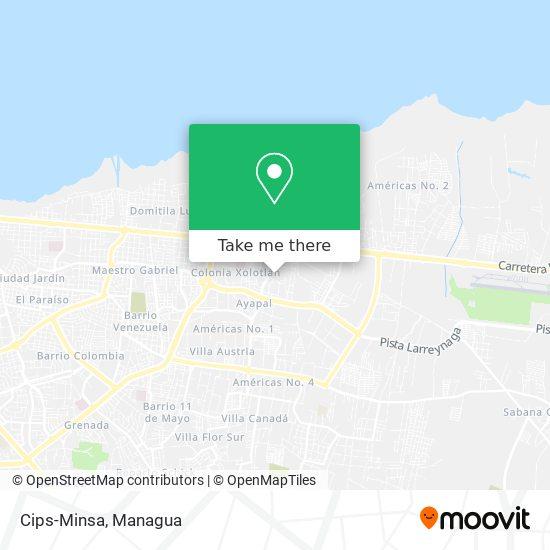 Bodegas Del Minsa map
