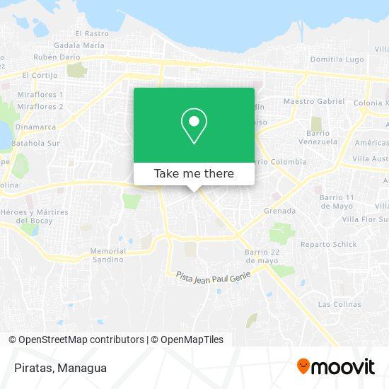 Piratas map