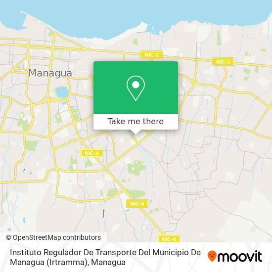 Instituto Regulador De Transporte Del Municipio De Managua (Irtramma) map