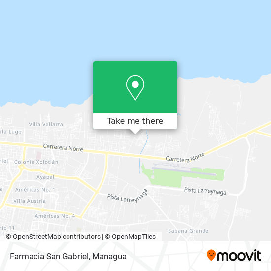 Farmacia San Gabriel map