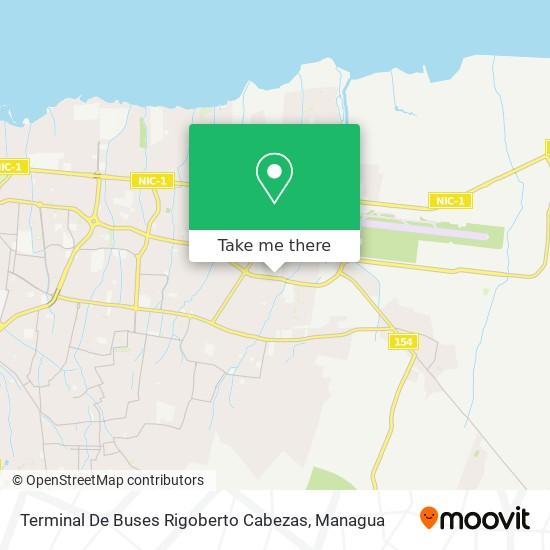 Terminal De Buses Rigoberto Cabezas map