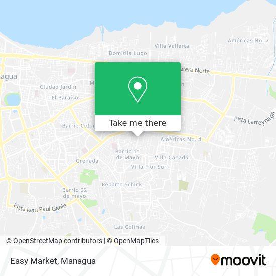 Easy Market map