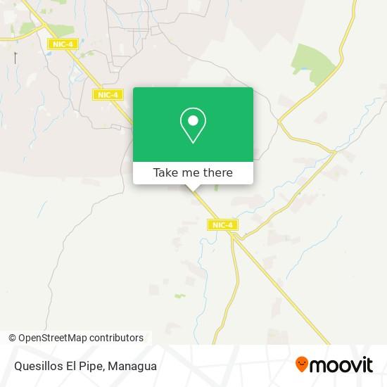 Quesillos El Pipe map