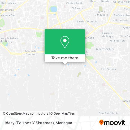 Ideay (Equipos Y Sistemas) map