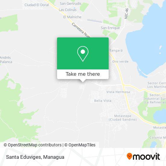 Santa Eduviges map