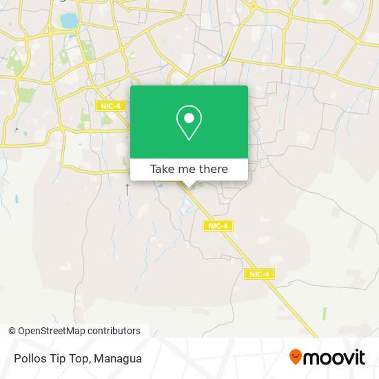 Pollos Tip Top map