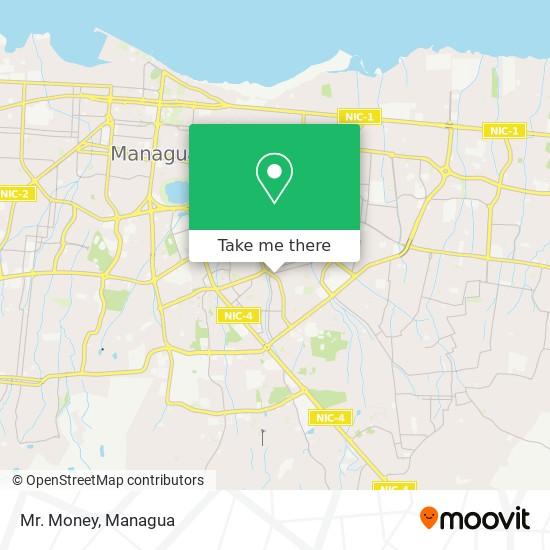 Mr. Money map