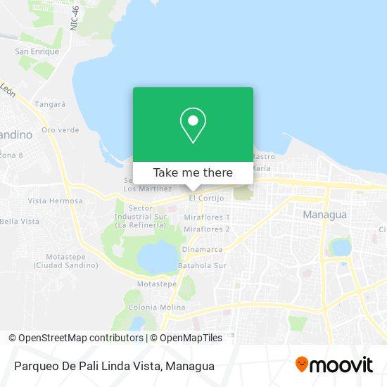 Parqueo De Pali Linda Vista map