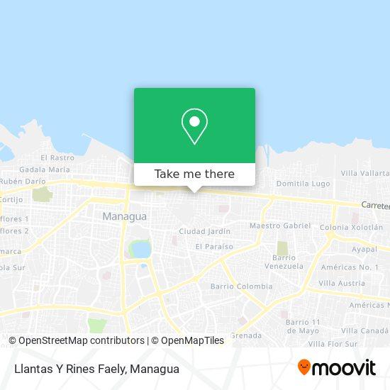 Llantas Y Rines map