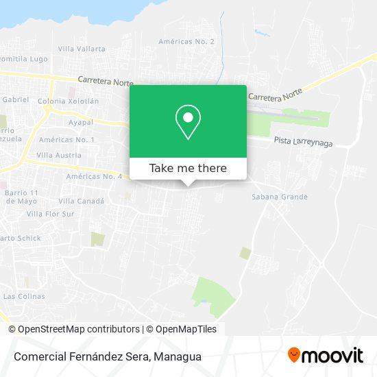 Comercial Fernández Sera map