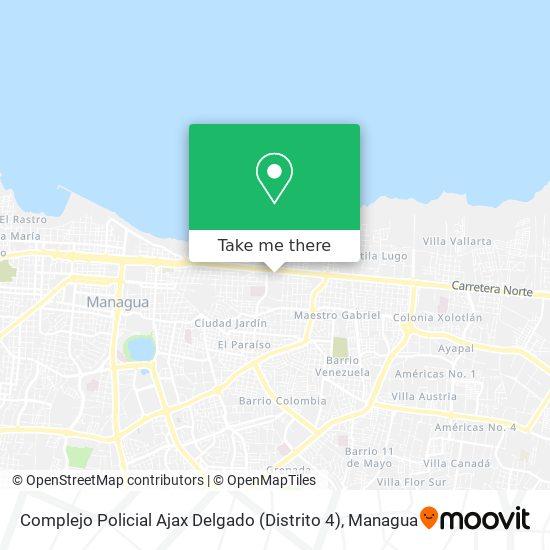 Policía Nacional Distrito 4 map