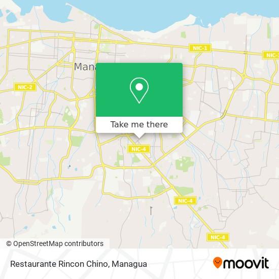 Restaurante Rincon Chino map