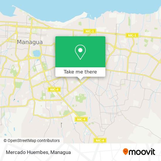 Mercado Huembes map