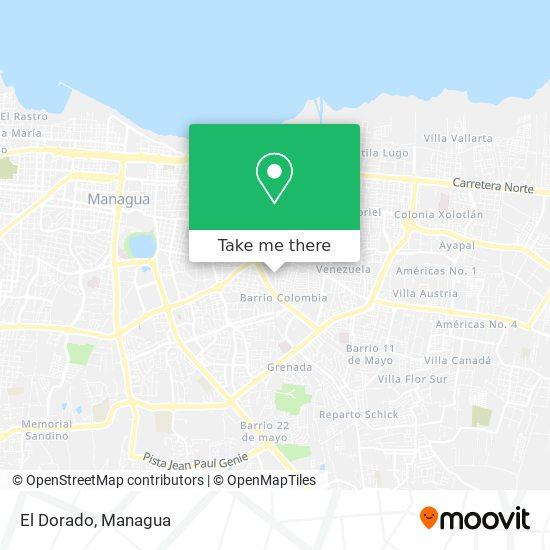 Residencial El Dorado map