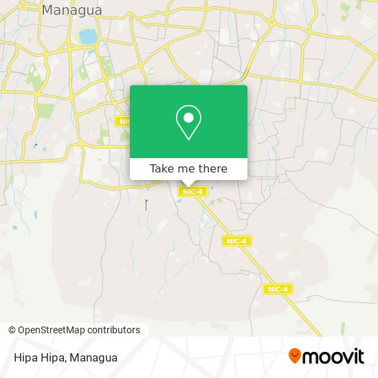 Hipa Hipa map