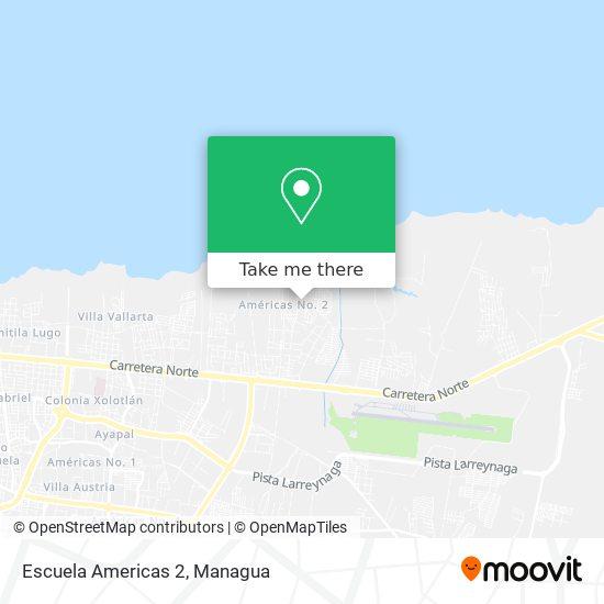 Escuela Americas 2 map