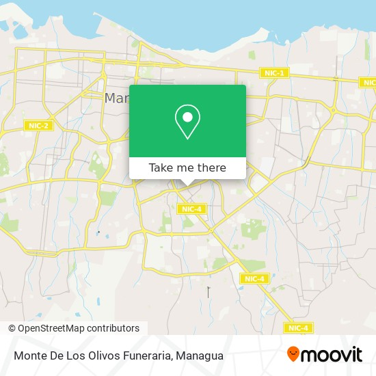 Monte De Los Olivos Funeraria map