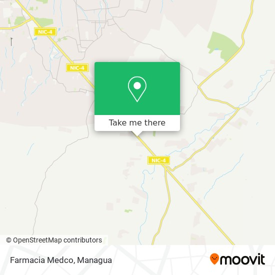 Farmacia Medco map