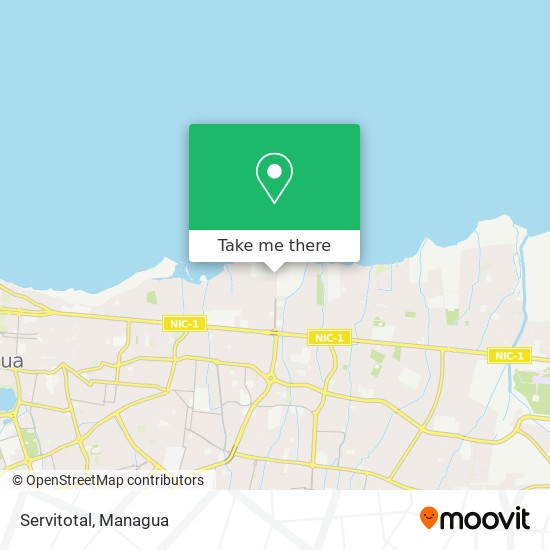 Servitotal map