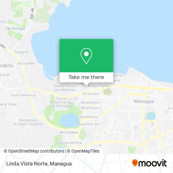 Linda Vista Norte map