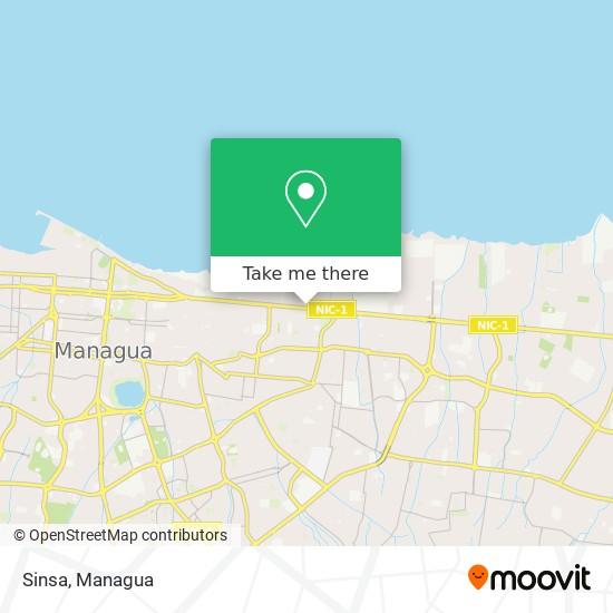 Sinsa map