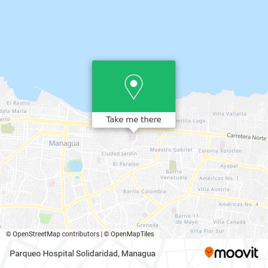 Parqueo Hospital Solidaridad map