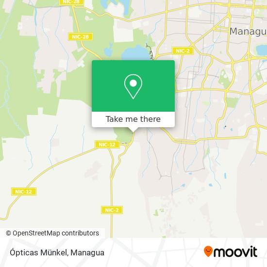 Ópticas Münkel map