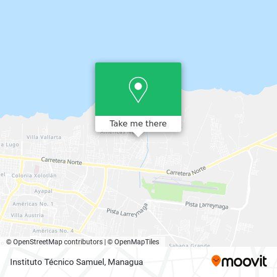 Instituto Técnico Samuel map