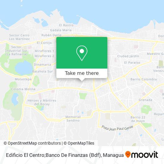 Edificio El Centro map