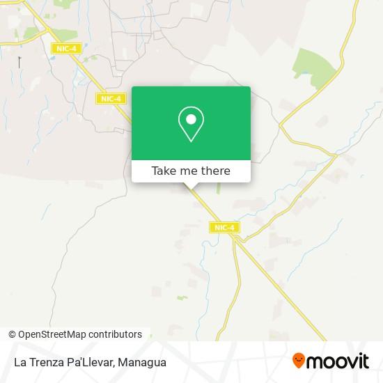 La Trenza Pa'Llevar map