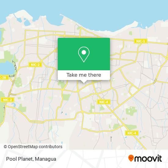 Pool Planet map