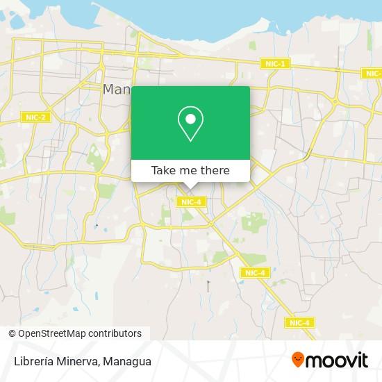 Librería Minerva map