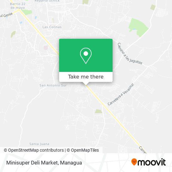 Deli Market map