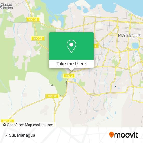 7 Sur map