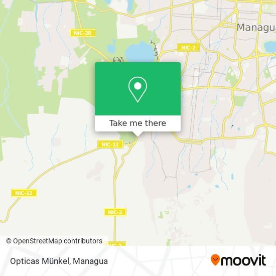 Opticas Münkel map
