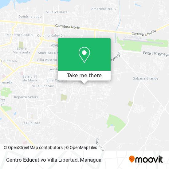 Centro Educativo Villa Libertad map