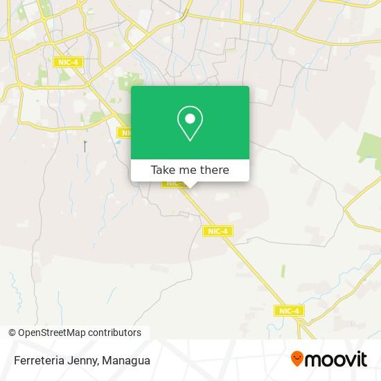 Ferreteria Jenny map