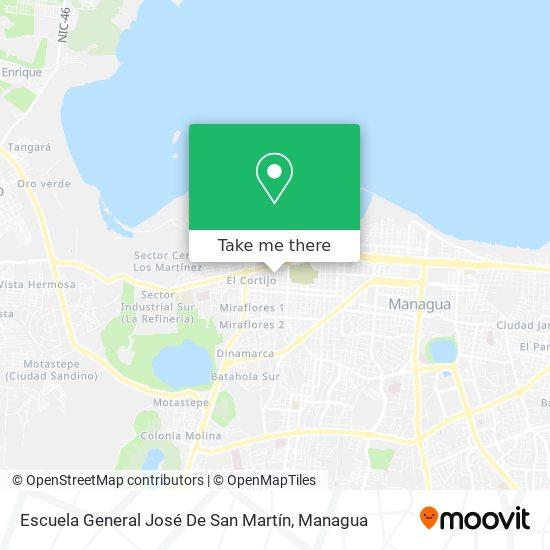 Escuela General José De San Martín map