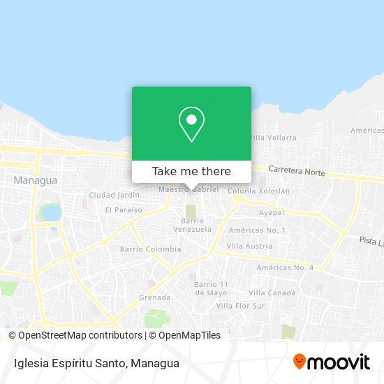 Iglesia Espíritu Santo map