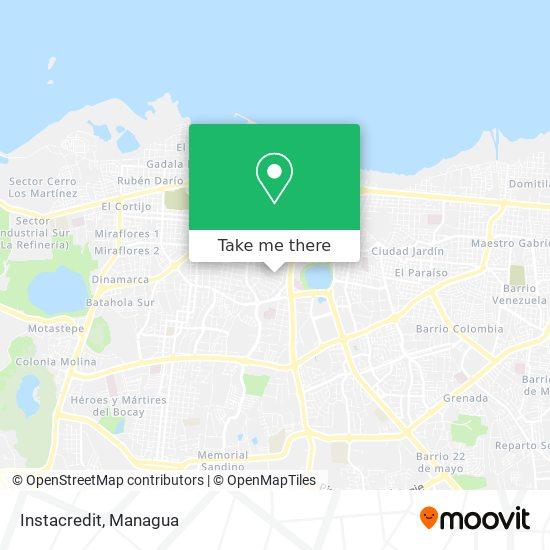 Instacredit map